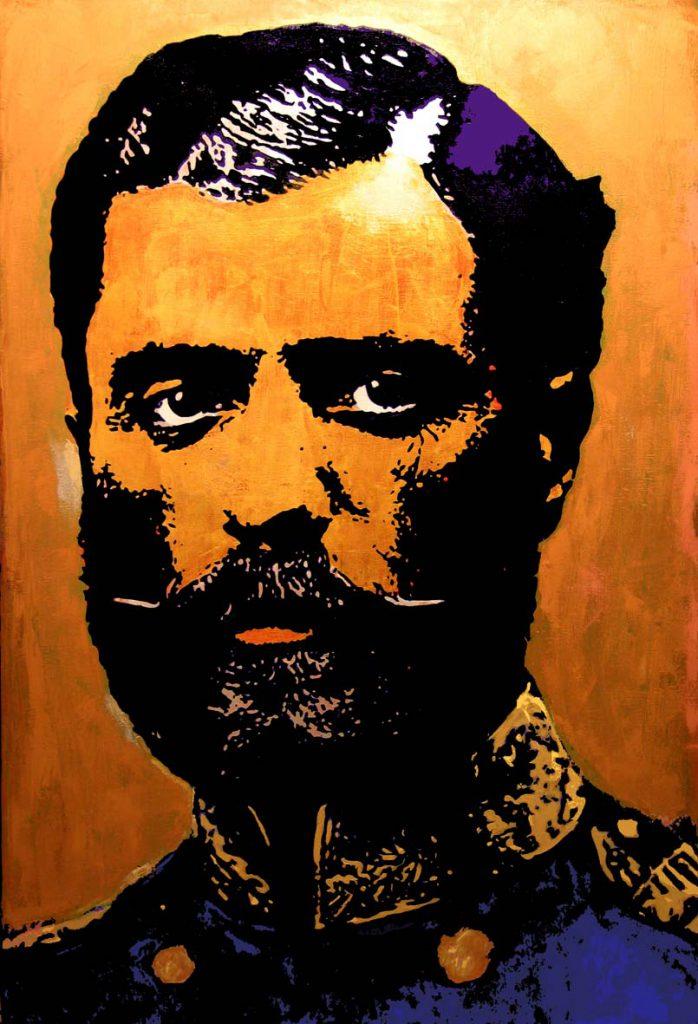 02 2007 Knez Mihailo III Obrenovic ulje na olatnu 150 x 100 cm
