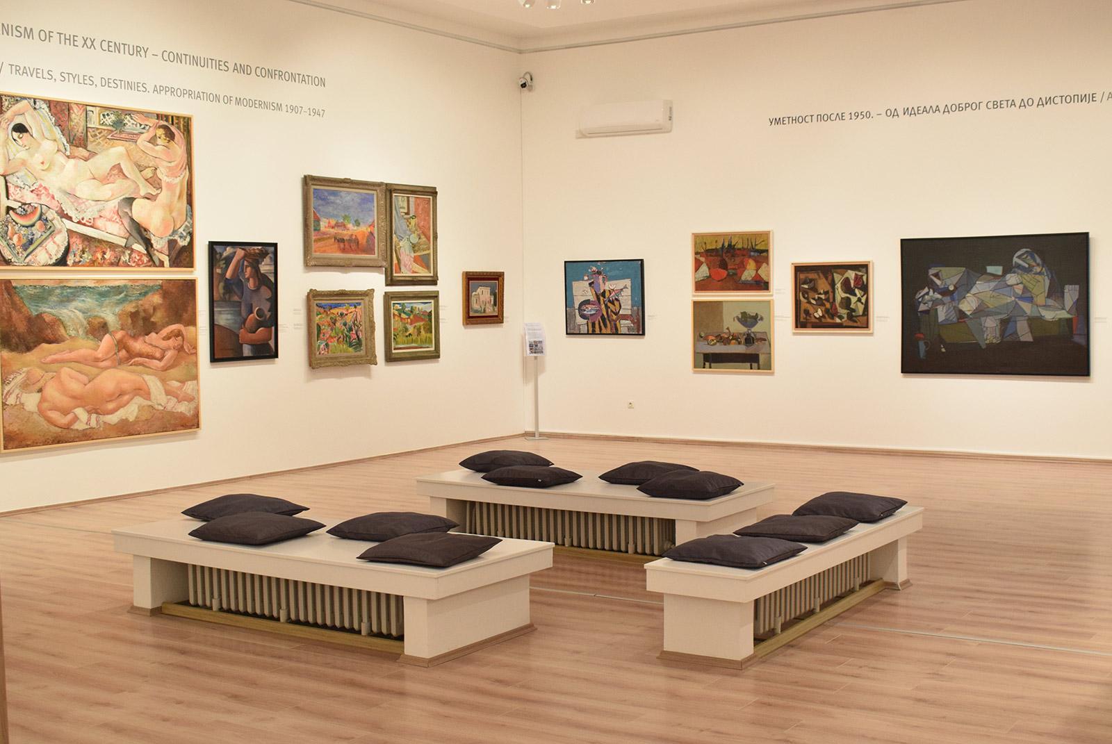 Umetnost XX veka u Galeriji Matice srpske