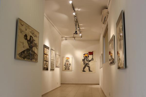 """Izložbeni prostor Galerije """"Haos"""" iz Beograda"""