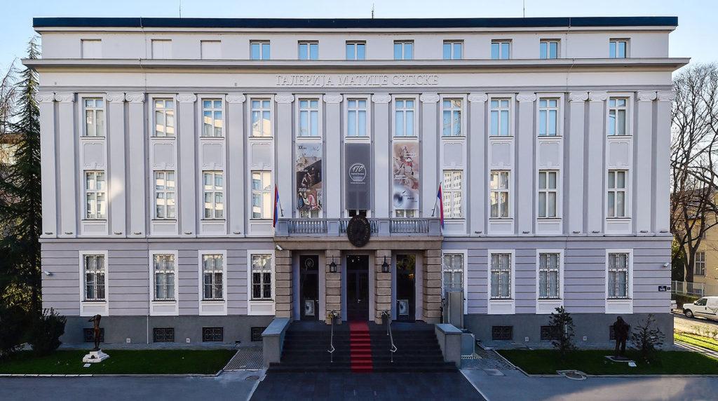 Zgrada Galerije Matice srpske u Novom Sadu