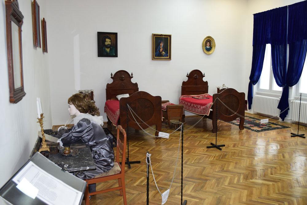 Gradjanska soba kao deo stalne muzejske postavke Muzeja grada Bačka Palanka