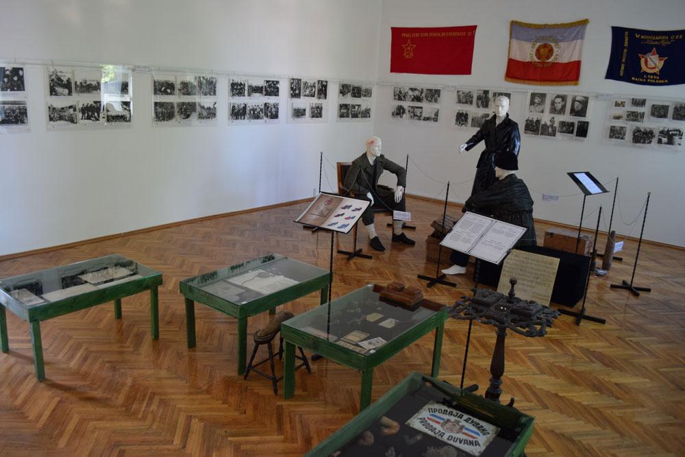 Istorijska postavka u muzeju grada Bačka Palanka