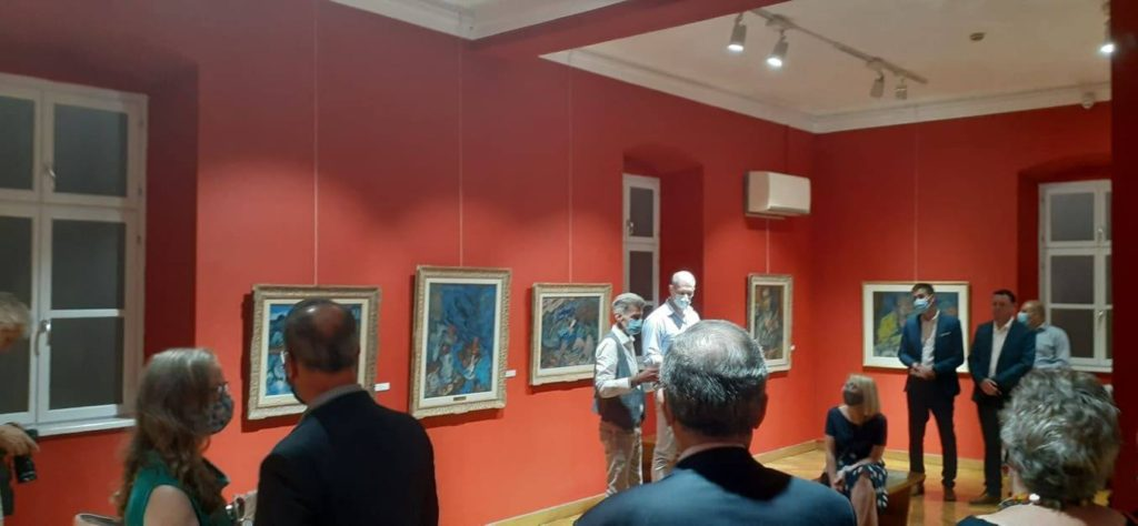 "Izložba u Galeriji ""Milan Konjović"" u Somboru"