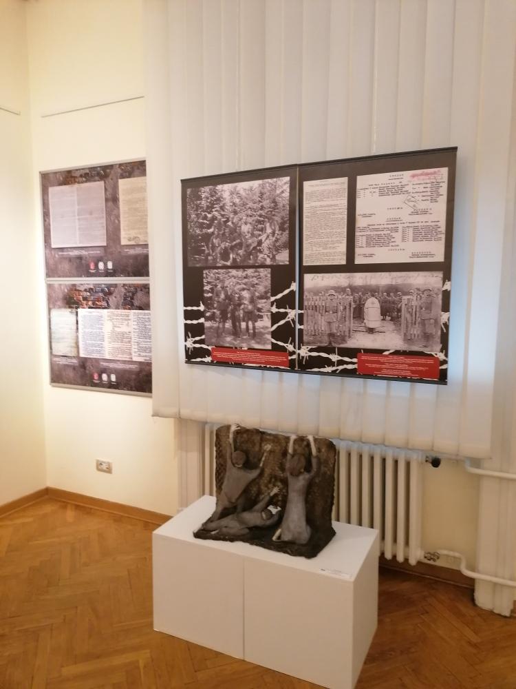 """Izložba pod nazivom """"Ratna slika Srbije u Drugom svetskom ratu, 1941-1945."""""""