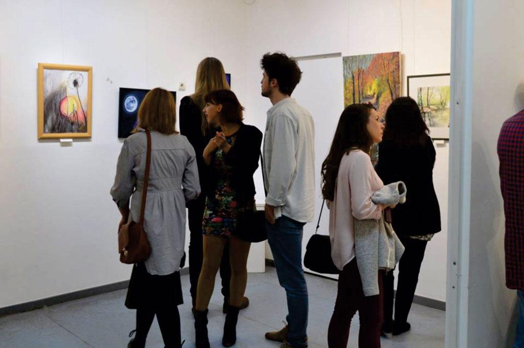 """Izložba ULUP-a u Galeriji """"Krug"""", Zaičajni muzej Petrovac na Mlavi"""