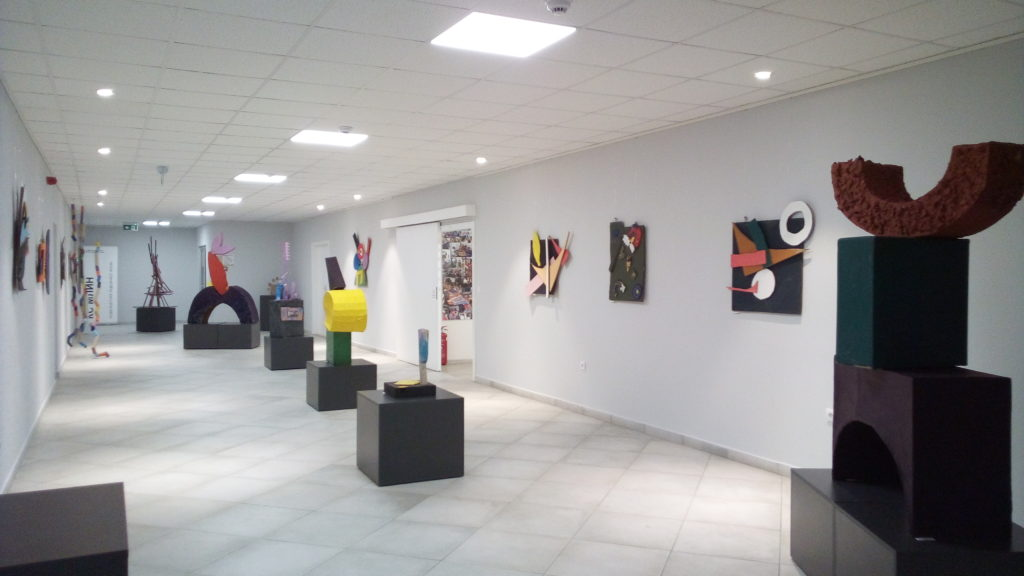 Izložbeni prostor Novosadskog dečjeg kulturnog centra