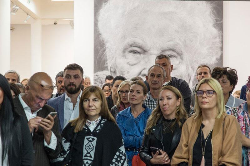 Posetioci Muzeja savremene umetnosti Vojvodine
