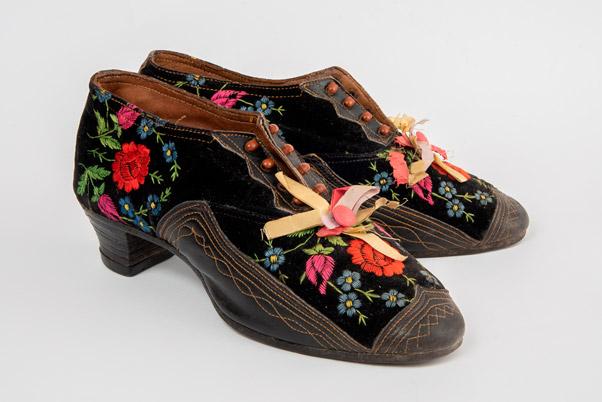 Muzej Vojvodine - ručno izrađene cipele