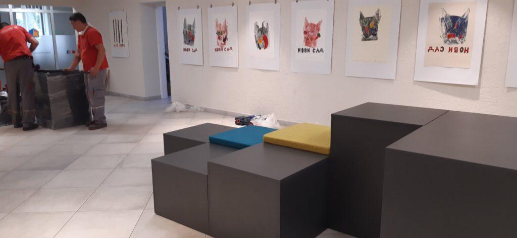 Izložba dečjih radova Novosadski dečji kulturni centar