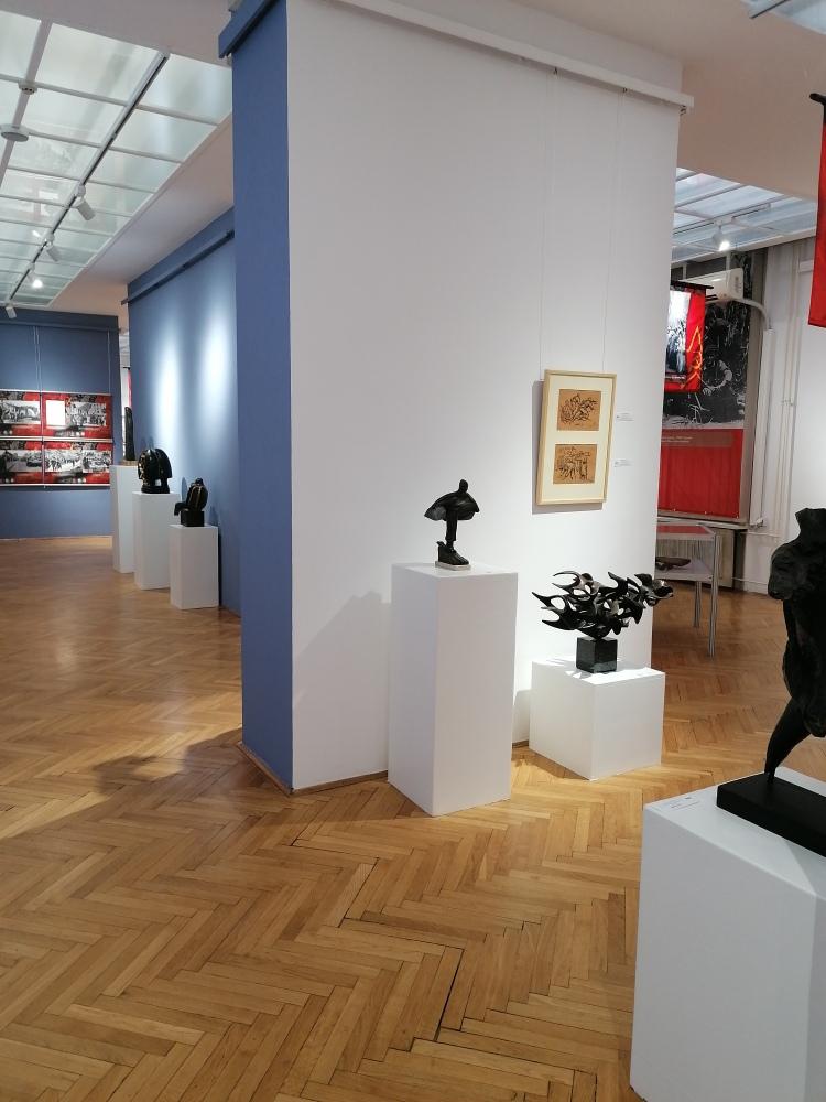 Dodatak izložbi - radovi umetnika koji su stvarali nakon rata