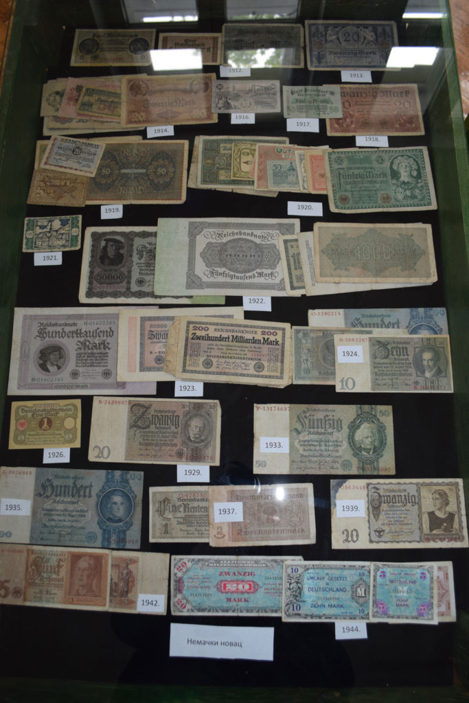 """Radionica """"Novac kroz vekove"""" koa se održava u Muzeju grada Bačka Palanka u toku Evropske noći Muzeja"""