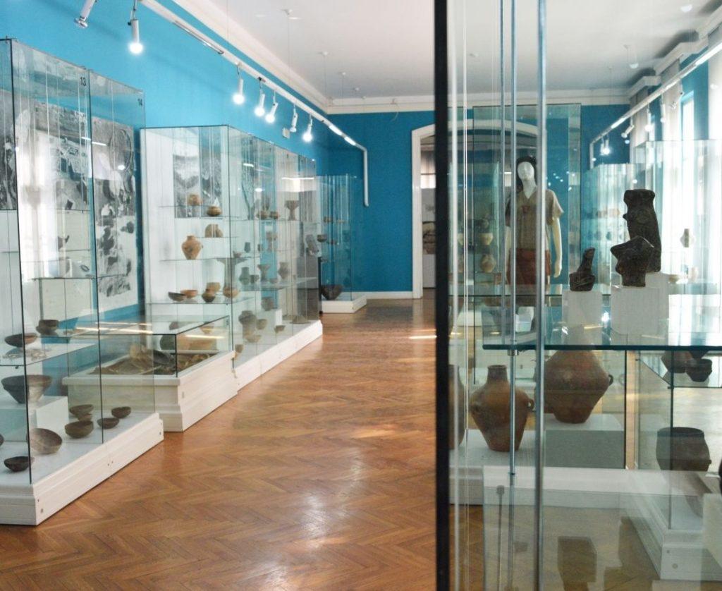 Prostorije Muzeja Vojvodine sa stalnom postavkom