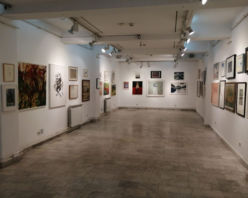 Prodajna galerija Beograd i njena stalna postavka