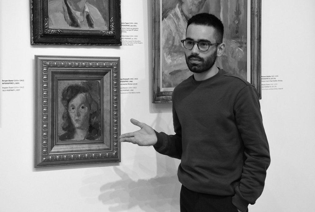 """Kustosko vođenje """"Umetnost i kvir"""", kroz stalnu postavku Galerije Matice srpske"""