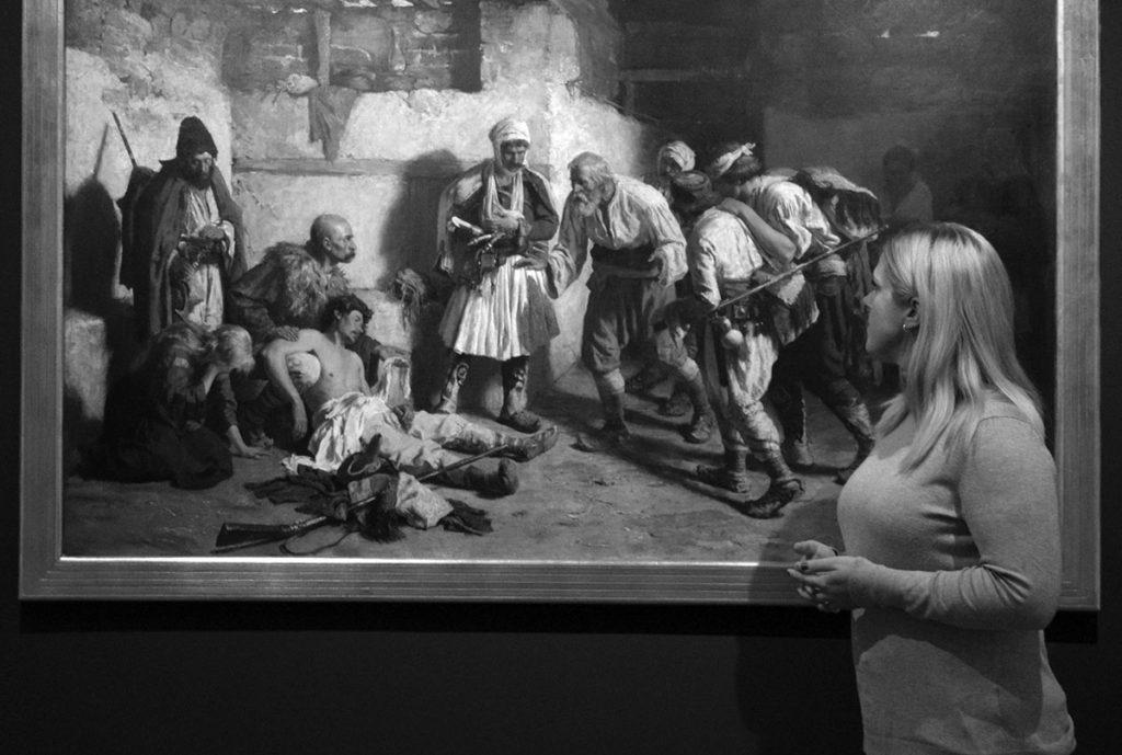 """""""Umetnost i nacionalni identitet"""", kustosko vođenje u Galeriji Mtice sprske"""