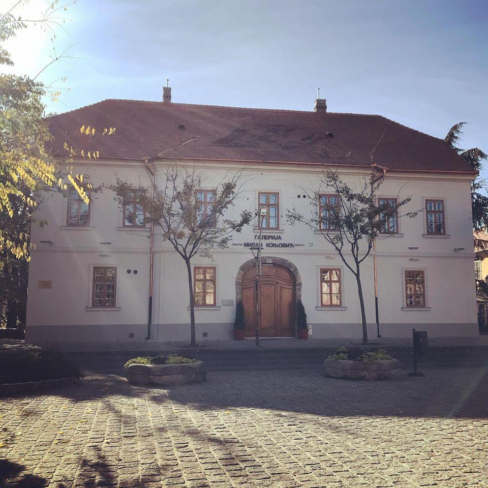 Renovirana fasada Galerije Milan Konjović u Somboru