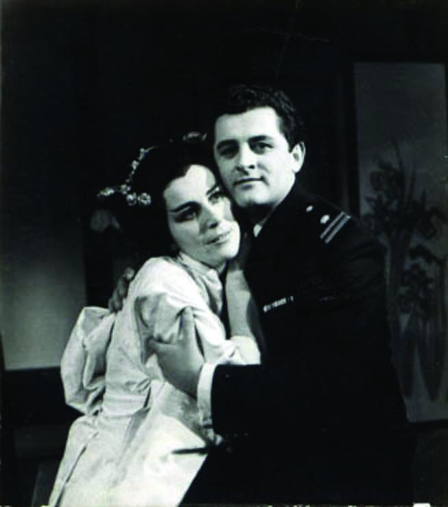 """Postavka """"Madam Baterflaj"""" iz 1963. godine"""