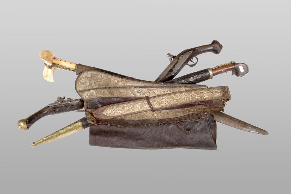Bensilah - kožni pojas, Muzej Ras u Novom Pazaru