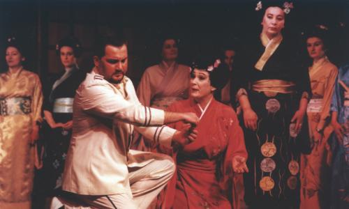 """Kitanovski i Pavlović Drakulić - postavka """"Madam Baterflaj"""" iz 1984. godine"""