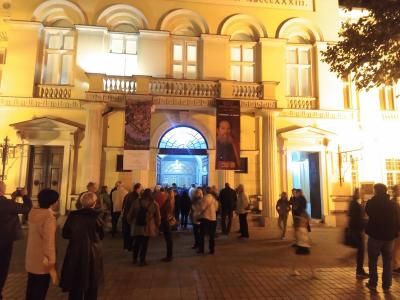 Posetioci Narodnog muzeja Pančevo