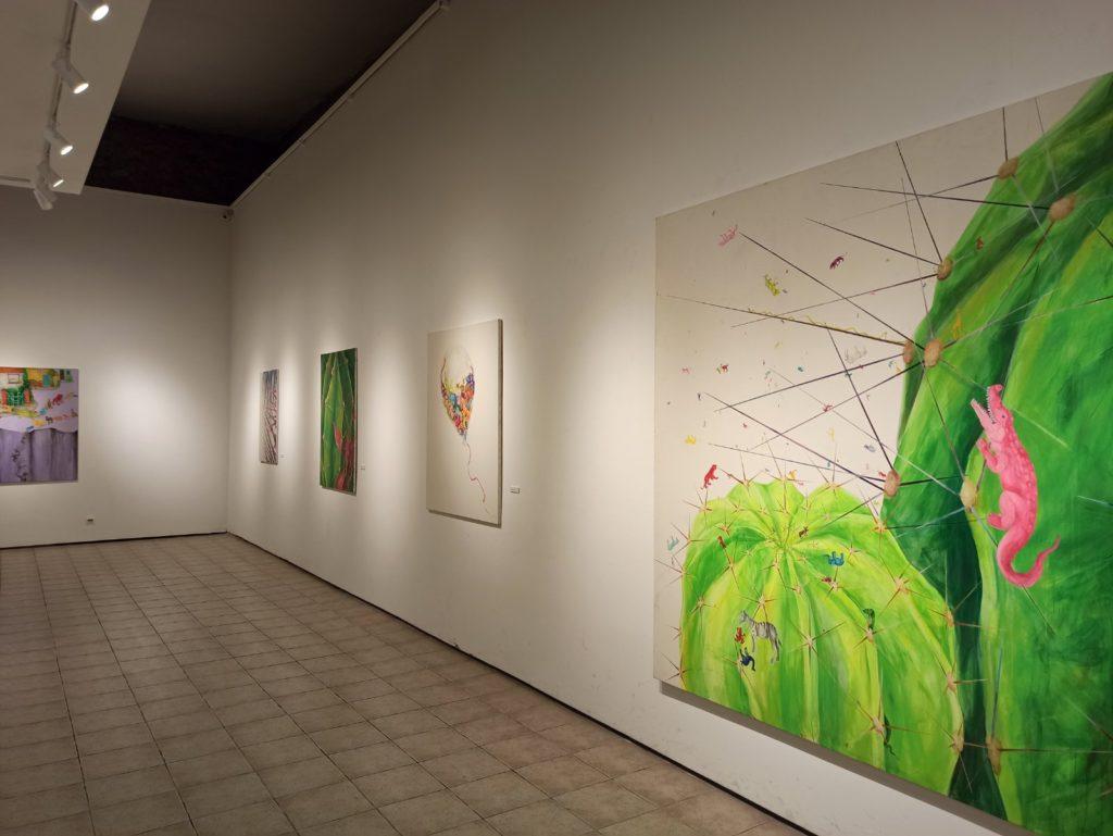 Postavka izložbe Sanje Madžarević, Galerija savremene likovne umetnosti Niš