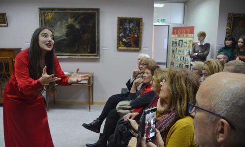 """Teatar mladih """"Mišolovka"""" i predstava """"Šest portreta Pavla Beljanskog"""""""