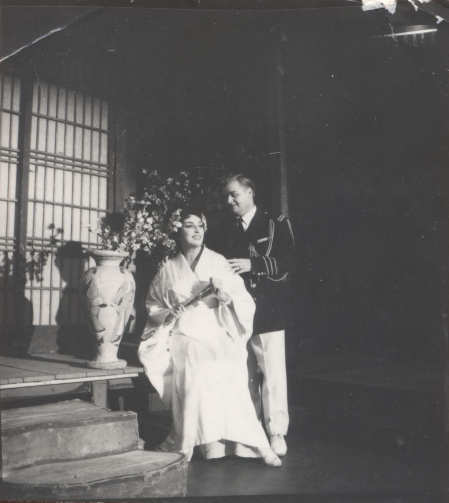 """Postavka """"Madam Baterflaj"""" iz 1945. godine"""
