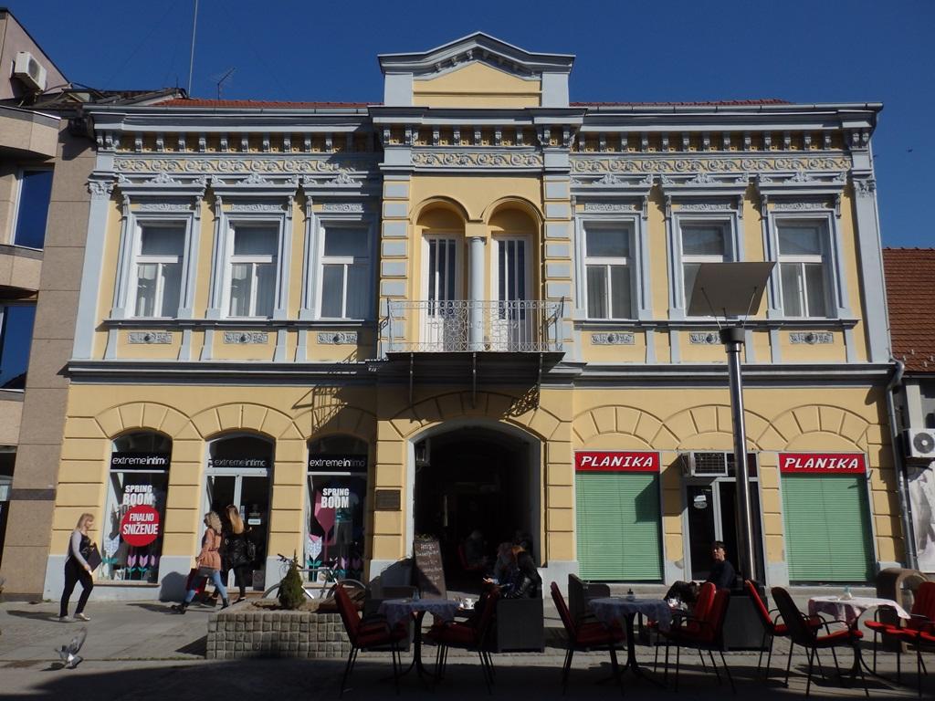 Zgrada stalne postavke slika Miće Popovića i Vere Božičković Popović