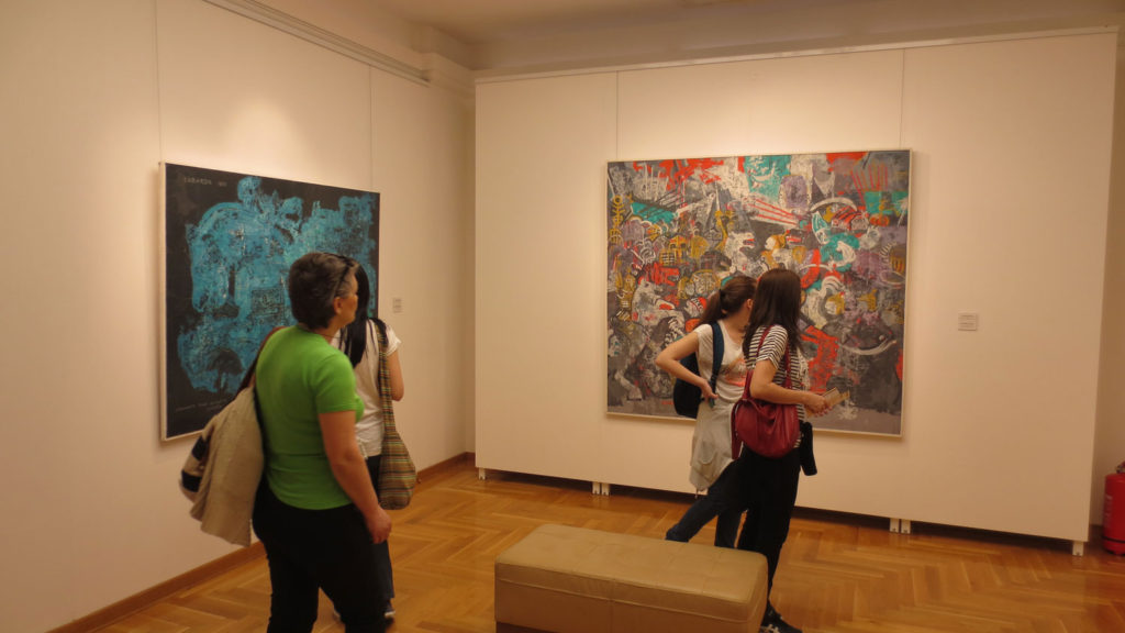 Izložbena postavka, Kuća legata- Legat Petra Lubarde u Beogradu