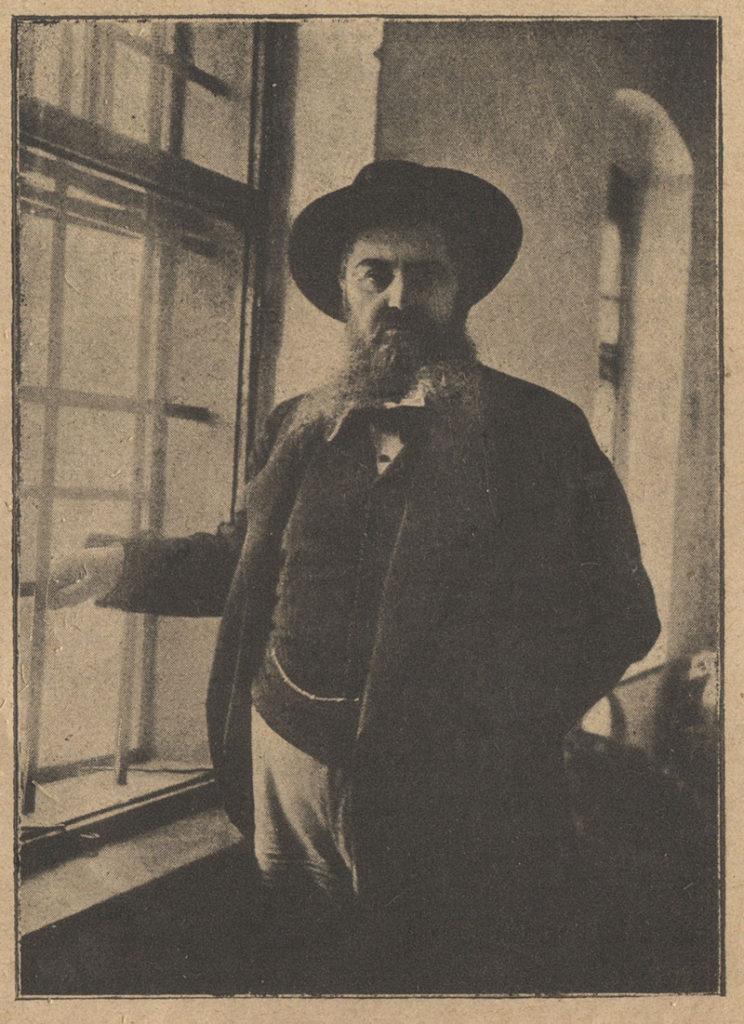 V. Djordjevic, u hodniku zatvora, Galerija Srpske akademije nauka i umetnosti