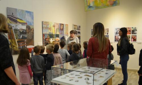 Vođenje najmlađih kroz postavku Spomen-zbirke Pavla Beljaskog