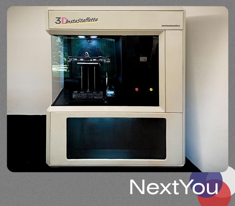 3D InstaStaffetta semiautomatico , Muzej Jugoslavije, Manifestacija 2021.