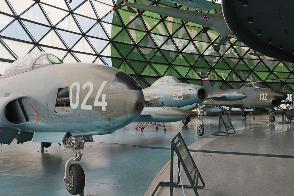 """Postavka aviona, Muzej vazduhoplovstva, Manifestacija """"Muzeji za 10"""" 2021.godine"""