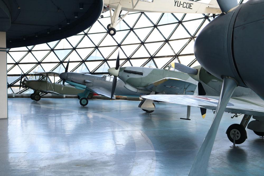 """Avioni-Muzej vazduhoplovstva, Manifestacija """"Muzeji za 10"""" 2021.godine"""