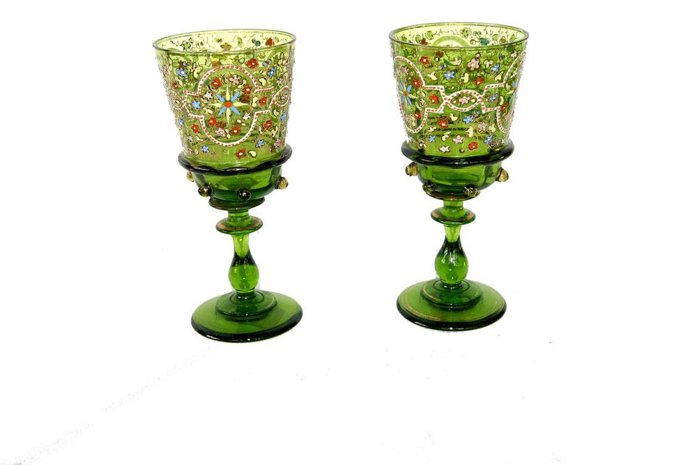 Staklene čaše iz 19. veka nepoznatog porekla, Narodni muzej Užice, Manifestacija Muzeji za 10, 2021., godine