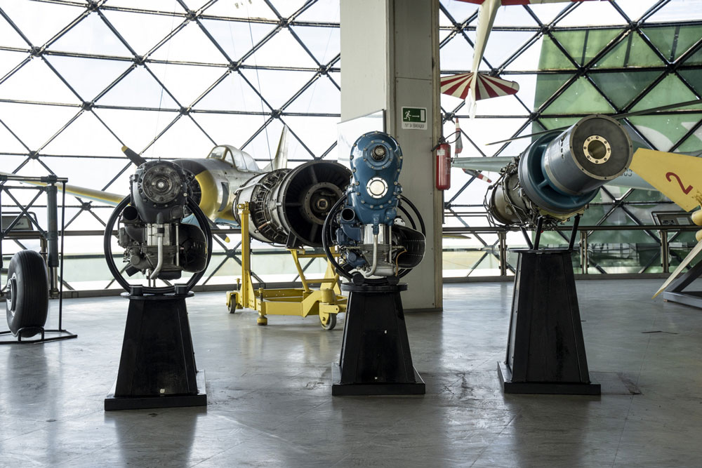"Detalji izložbe, Muzej vazduhoplovstva, Manifestacija ""Muzeji za 10"" 2021.godine"