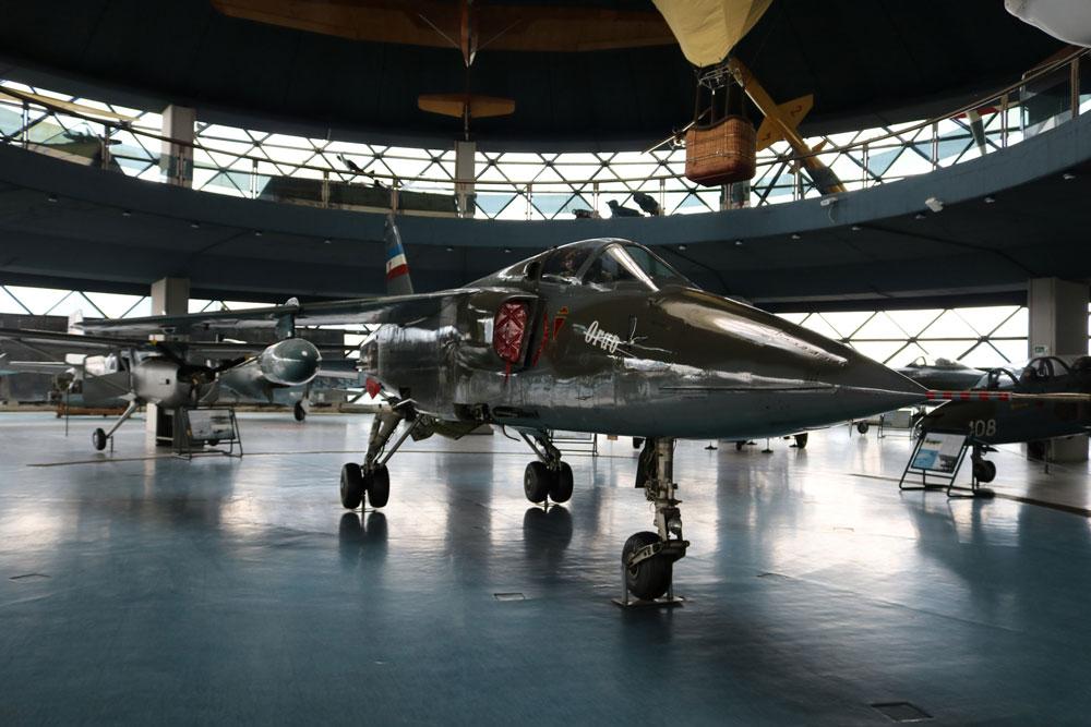 "Eksponat - avion, Muzej vazduhoplovstva, Manifestacija ""Muzeji za 10"" 2021.godine"