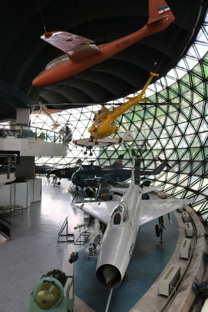 """Eksponati, Muzej vazduhoplovstva, Manifestacija """"Muzeji za 10"""" 2021.godine"""