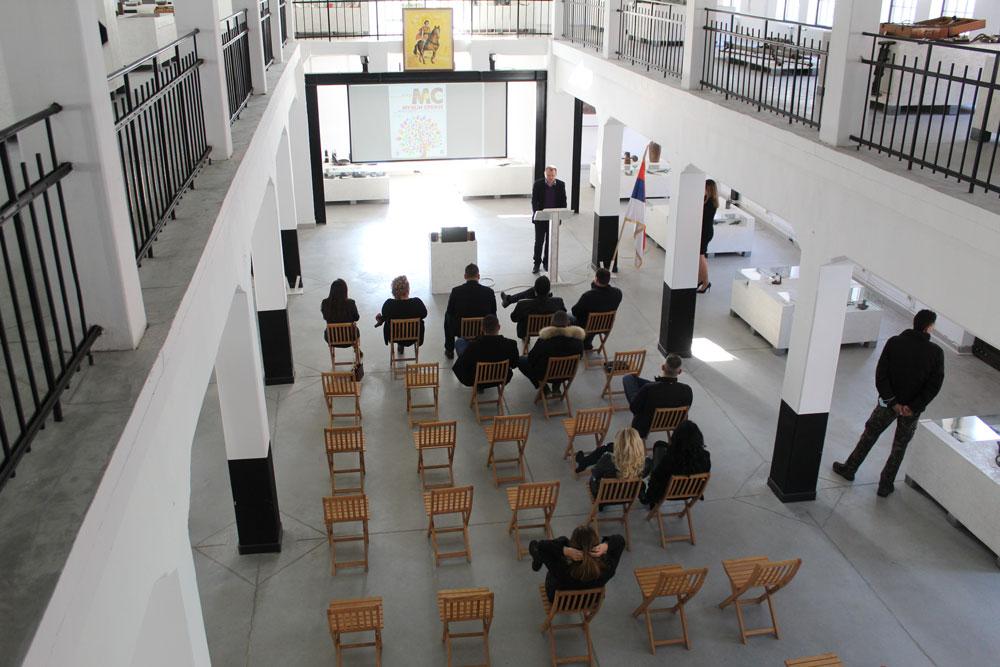 Galerija Muzeja Ugljarstva, Senjski Rudnik