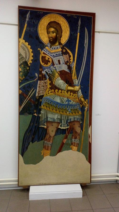 Freska Zavičajnog muzeja u Jagodini 2021.