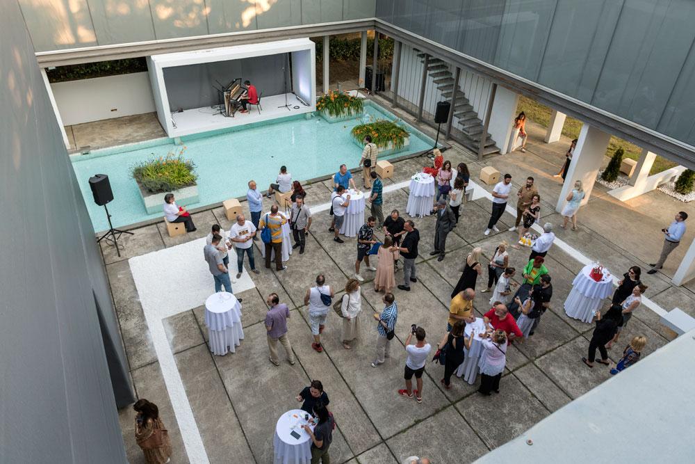 "Posetioci, Galerija - Legat, Muzej savremene umetnosti Beograd, Manifestacija ""Muzeji za 10"", 2021."