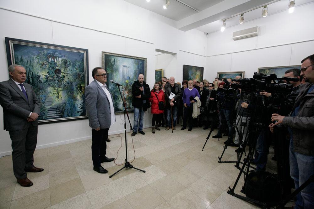 Izložba Ljube Popovića, Moderna galerija Valjevo