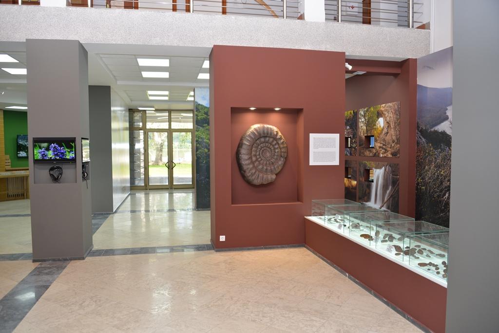 """Izložbena postavka, Nacionalni park Đerdap, """"Muzeji za 10"""", 2021. godine"""