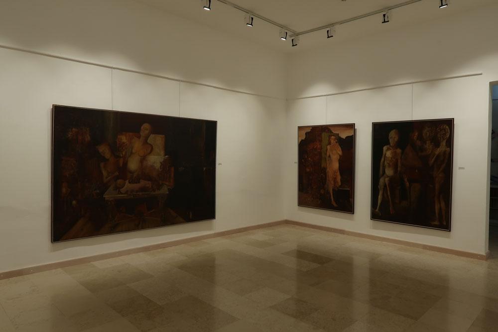 Ljuba Popović, Jugoslovenski period, Moderna galerija Valjevo