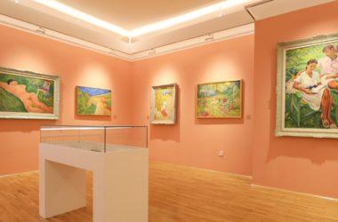 Kuća legata - Galerija Petra Dobrovića, unutrašnjost, Manofestacija Muzeji za 10, 2021.