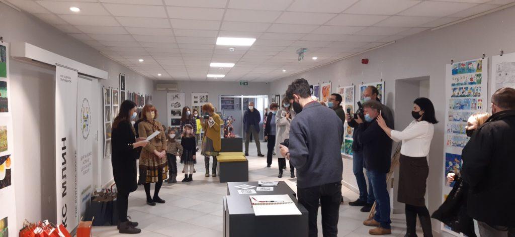 Novosadski dečji kulturni centar, otvaranje i slikanje, Manifestacija Muzeji za 10, 2021.