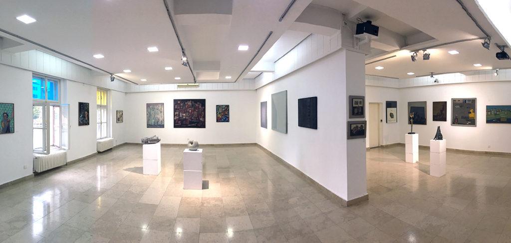 Savremena galerija Zrenjanin -izložbeni prostor -