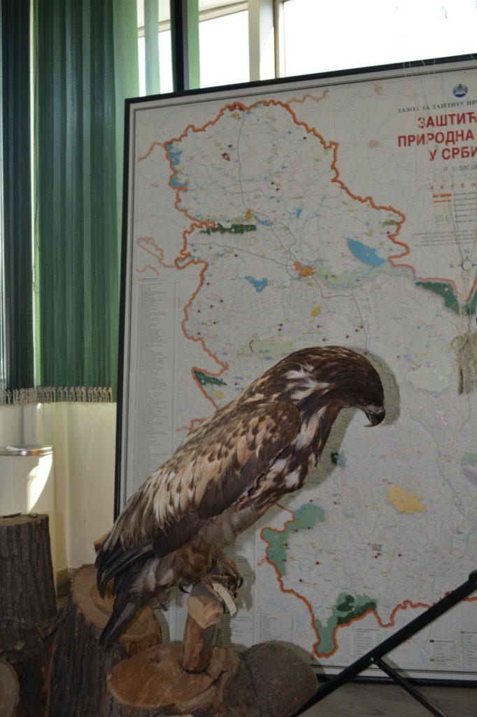 Izložba Zavoda za zaštitu prirode Srbije, Muzeji za 10, 2021