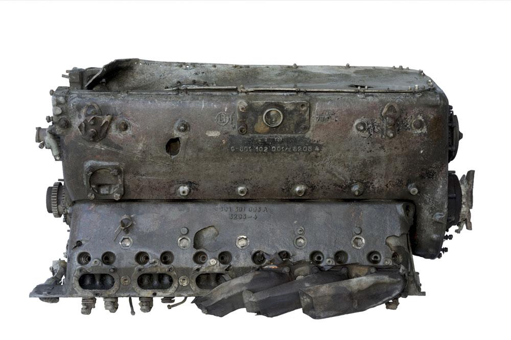 """Motor aviona Messerschmitt Bf-109, Muzej vazduhoplovstva, Manifestacija """"Muzeji za 10"""" 2021.godine"""