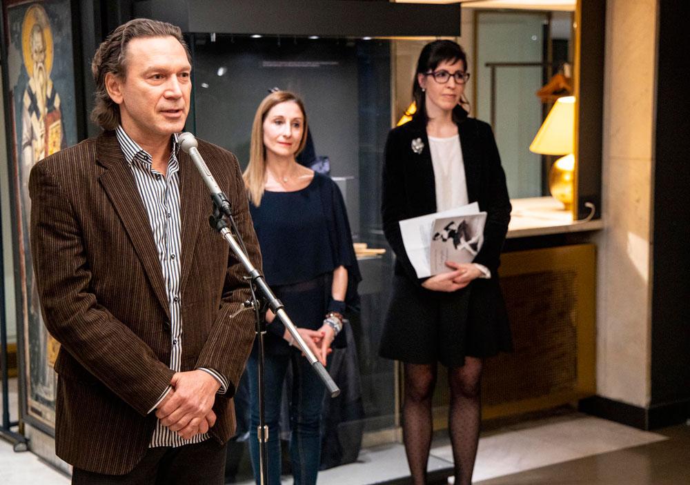 """Otvaranje izložbe, Muzej Narodnog pozorišta, Manifestacija """"Muzeji za 10"""", 2021. godine"""